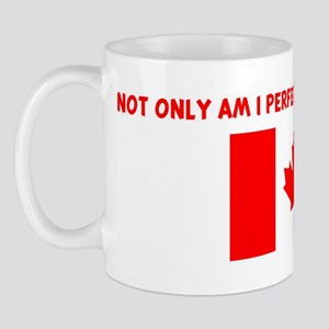 NOT ONLY AM I PERFECT BUT CAN Mug