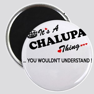 CHALUPA thing, you wouldn't understand Magnets