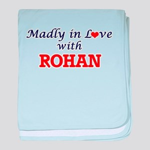 Madly in love with Rohan baby blanket