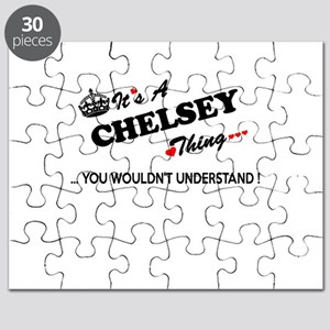 CHELSEY thing, you wouldn't understand Puzzle