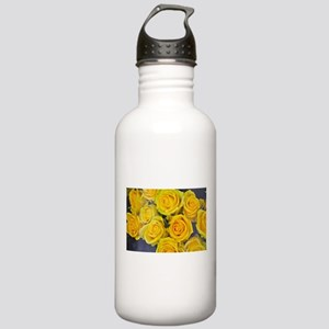 Beautiful yellow roses Stainless Water Bottle 1.0L