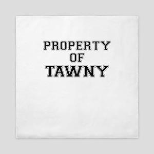 Property of TAWNY Queen Duvet