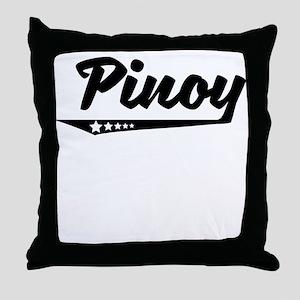 Pinoy Retro Logo Throw Pillow