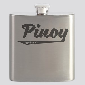Pinoy Retro Logo Flask