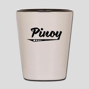Pinoy Retro Logo Shot Glass