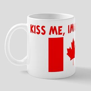 KISS ME IM CANADIAN Mug