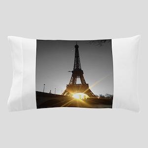 Eiffel tower gold Paris Pillow Case