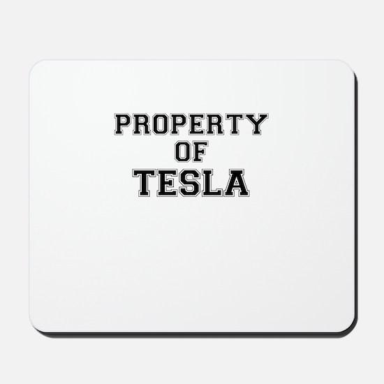 Property of TESLA Mousepad