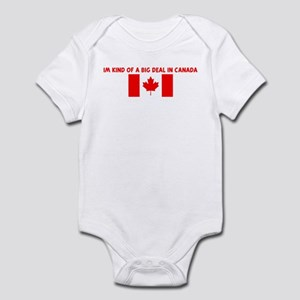 IM KIND OF A BIG DEAL IN CANA Infant Bodysuit