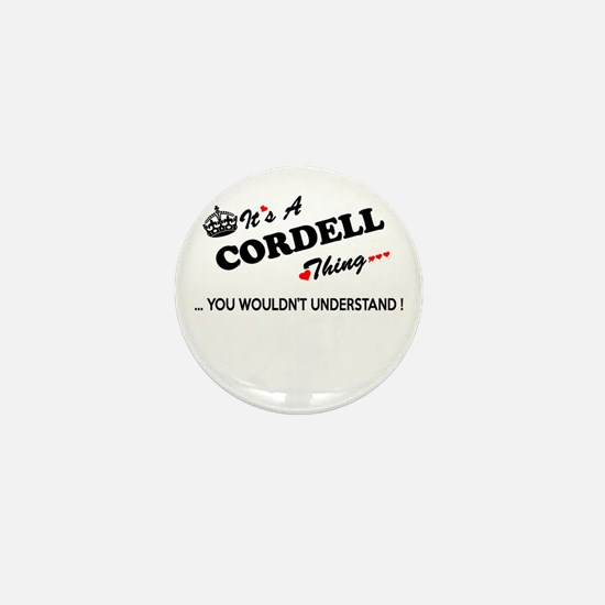 CORDELL thing, you wouldn't understand Mini Button