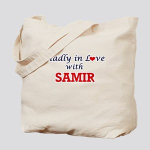 Madly in love with Samir Tote Bag