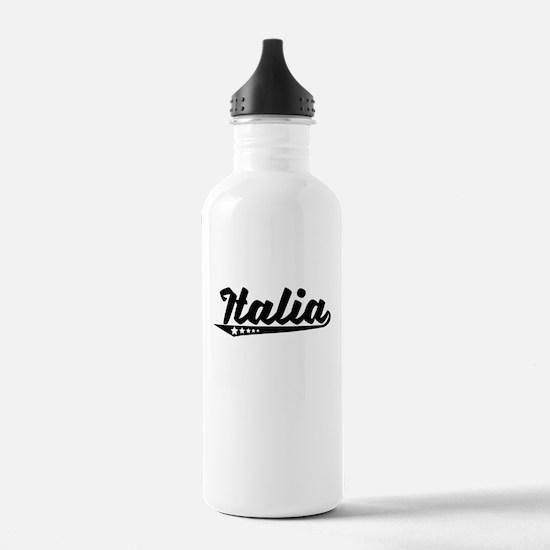 Italia Retro Logo Water Bottle