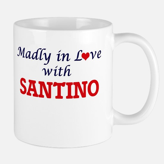 Madly in love with Santino Mugs