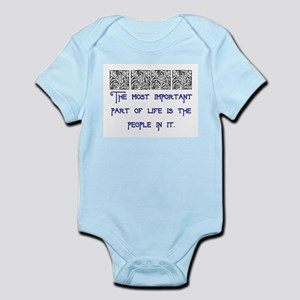 MOST IMPORTANT PART OF LIFE Infant Bodysuit
