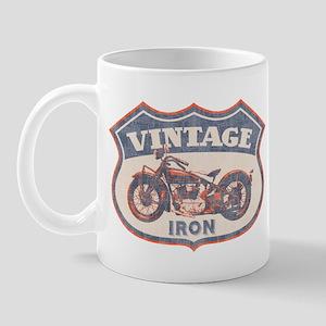 Vintage Iron Mug
