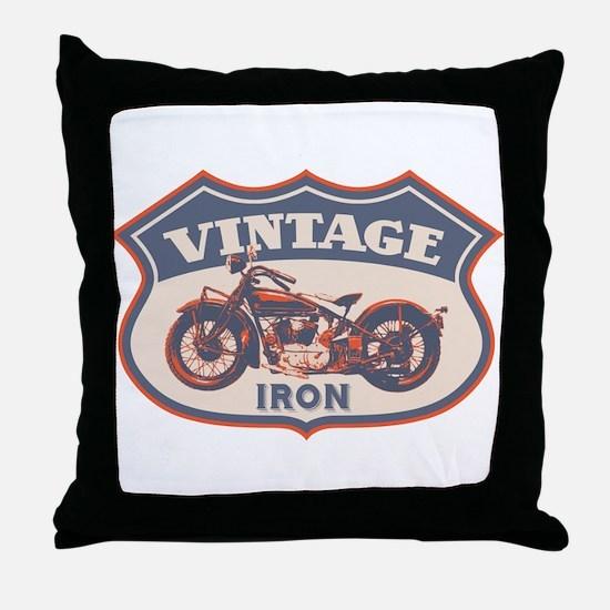 Vintage Iron Throw Pillow