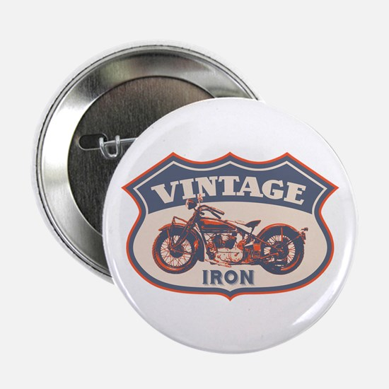 "Vintage Iron 2.25"" Button"