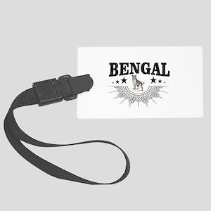 bengal logo Large Luggage Tag