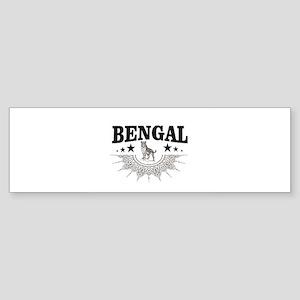 bengal logo Bumper Sticker