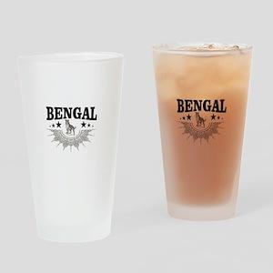 bengal logo Drinking Glass