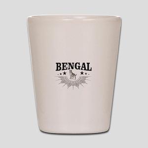 bengal logo Shot Glass