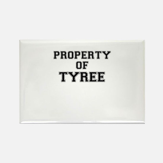 Property of TYREE Magnets