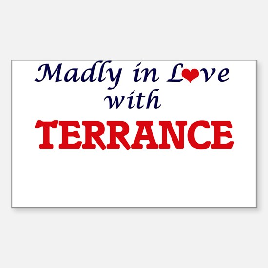 Madly in love with Terrance Decal