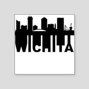 Roots Of Wichita KS Skyline Sticker