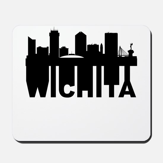 Roots Of Wichita KS Skyline Mousepad