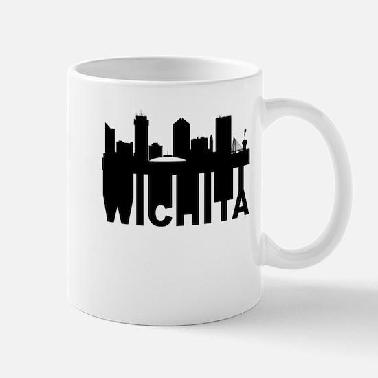Roots Of Wichita KS Skyline Mugs