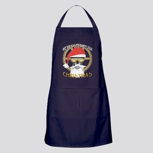 Merry Steampunk Christmas Clothing Sk Apron (dark)