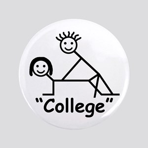 """College"" 3.5"" Button"