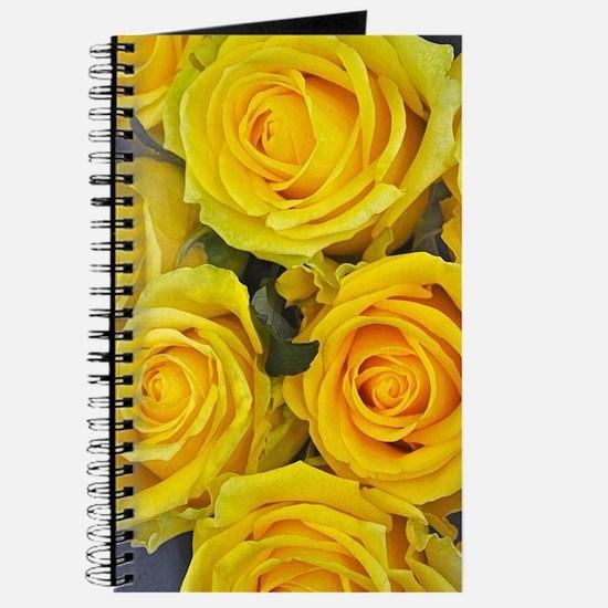 Beautiful yellow roses Journal