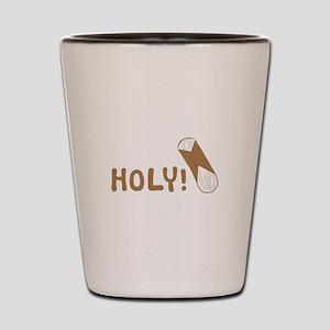 Holy Cannoli Shot Glass