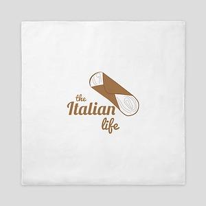 Italian Life Queen Duvet