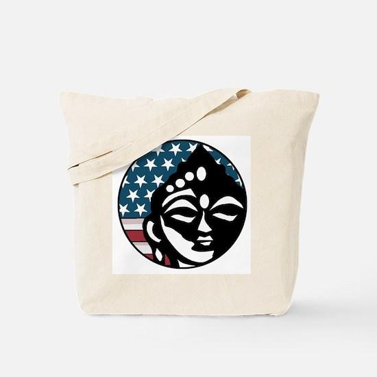 American Buddhist Tote Bag