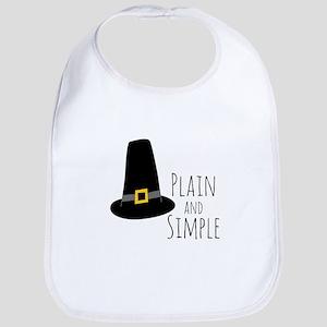 Plain Pilgrim Bib