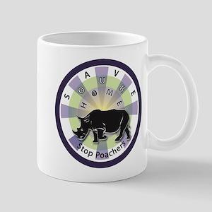 Save Our Home: Rhinos 2 Mug
