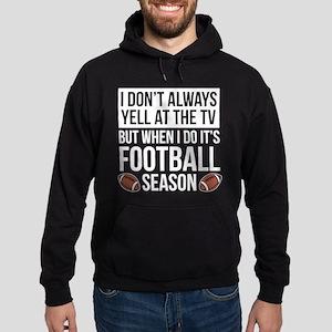 Football Season Hoodie (dark)