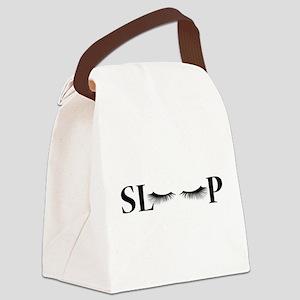 Sleep Canvas Lunch Bag