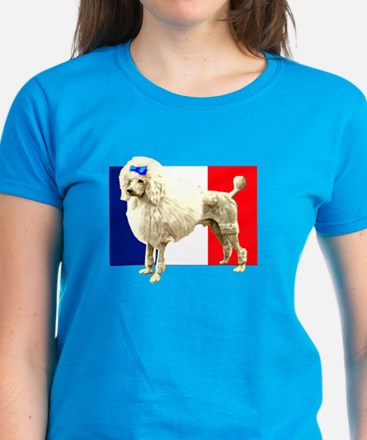 French Poodle Women's Dark T-Shirt