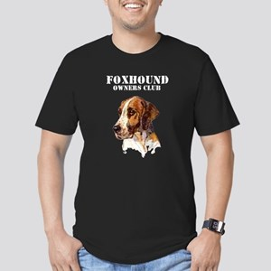 Foxhound Owners Club Men's Fitted T-Shirt (dark)