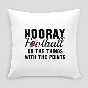 Hooray Football Everyday Pillow