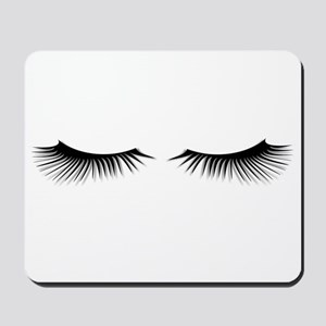 Eyelashes Mousepad