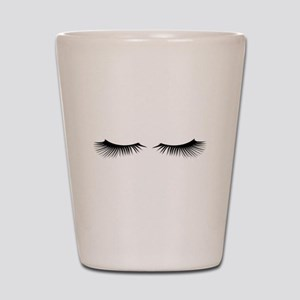Eyelashes Shot Glass