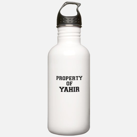 Property of YAHIR Sports Water Bottle