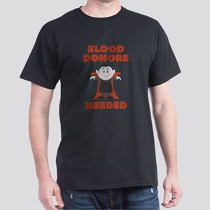 Blood Donors Needed Dark T-Shirt