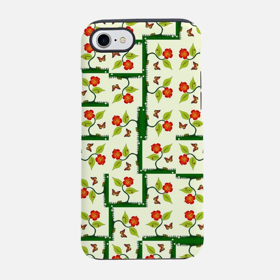Plants and flowers iPhone 8/7 Tough Case