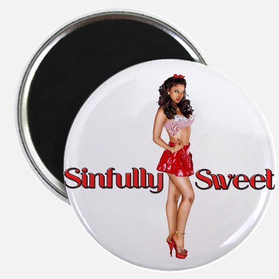Sexy Sinfully Sweet Pinup Magnet