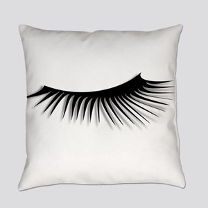 Eye Lash Everyday Pillow